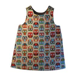 Minimod dress - owls