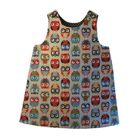 Minimod dress - owls