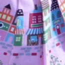 Pink city fabric